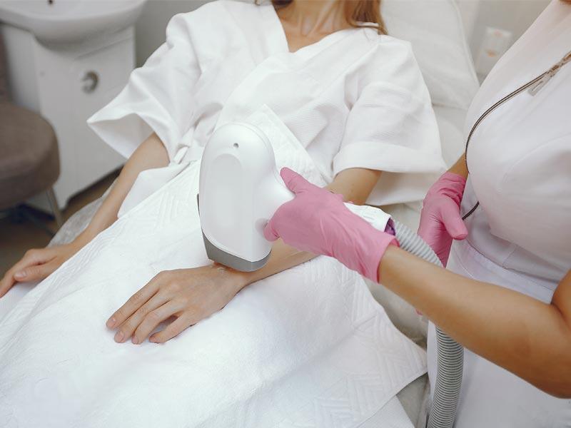 riesgos depilación con láser